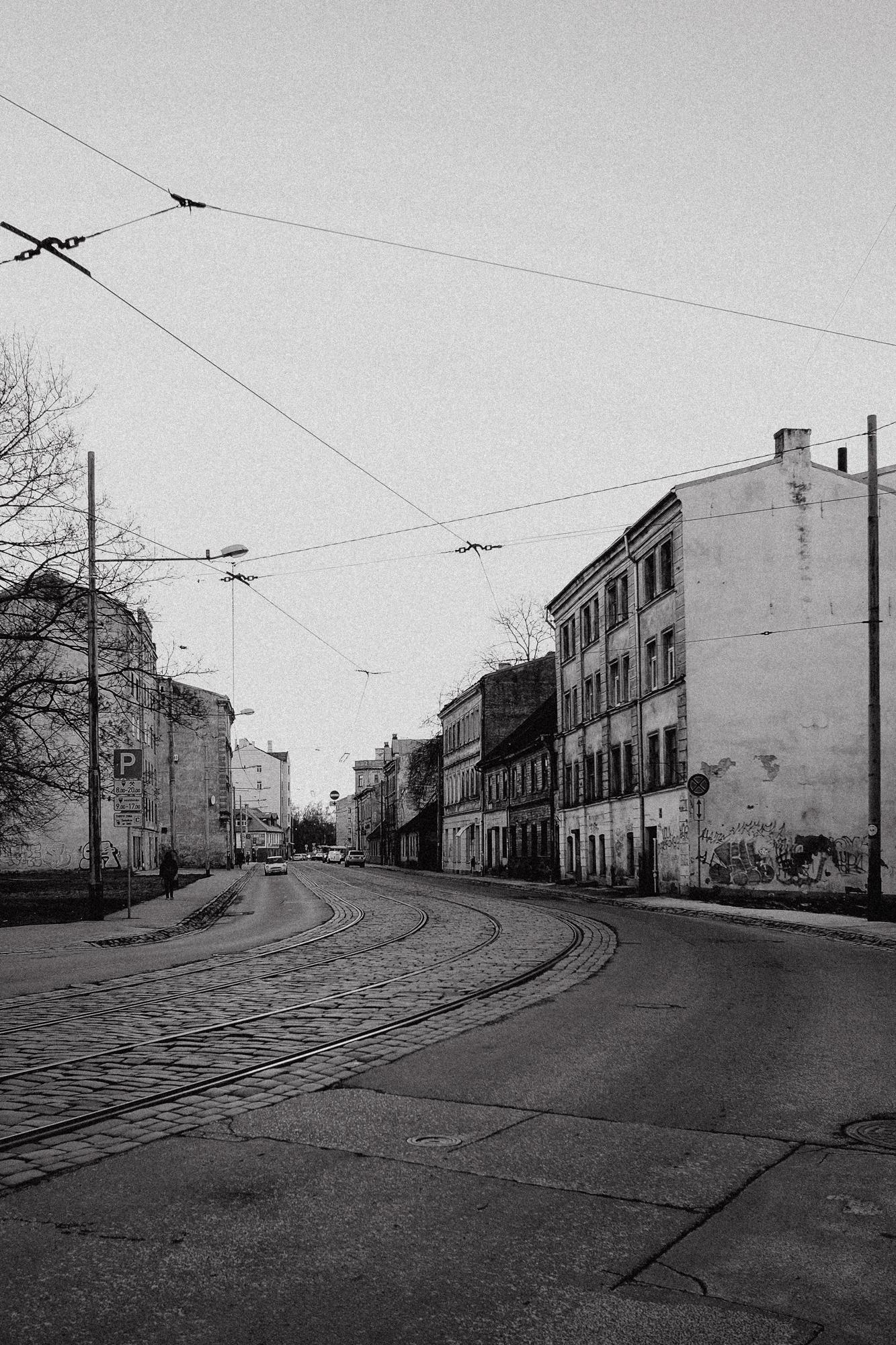 Das ehemalige jüdische Ghetto der Stadt Riga