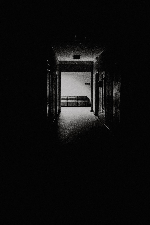 Licht am Ende des Gangs