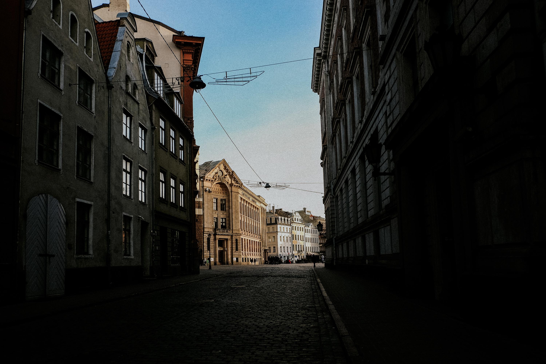 Sonnenschein in Rigas Altstadt
