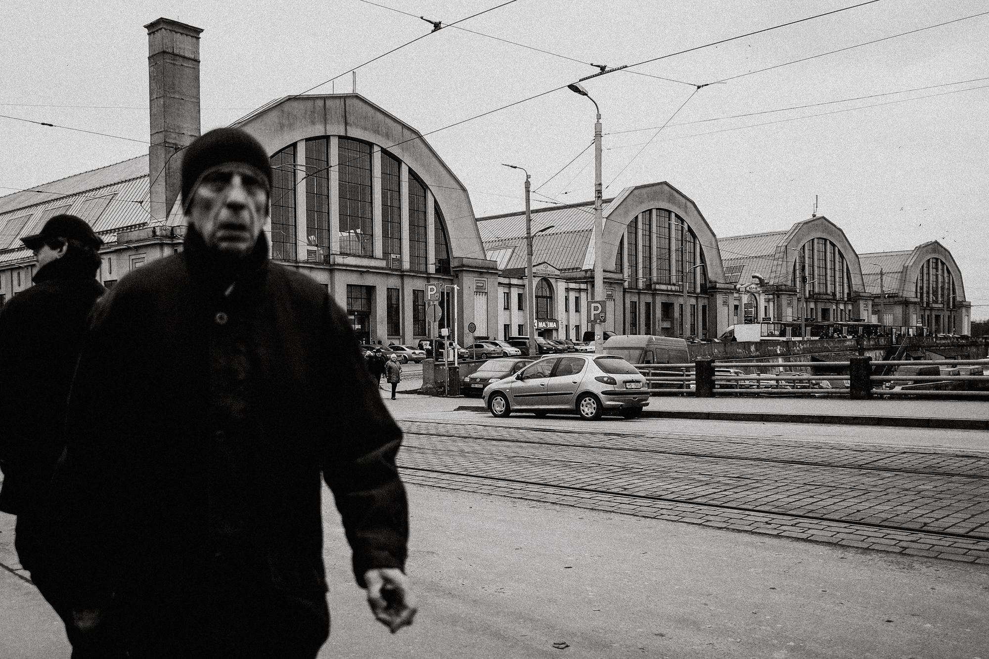 Ehemalige Zeppelinhallen in Riga