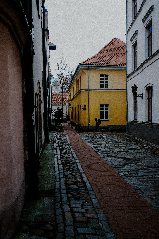Gelbes Haus in Riga